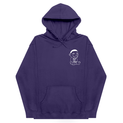 DaBaby Purple Outline Logo Hoodie