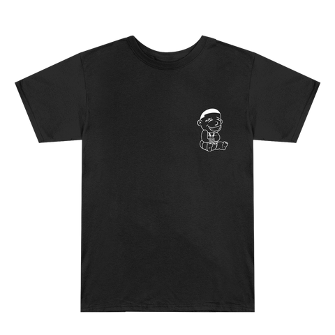 DaBaby Black Outline Logo T-Shirt