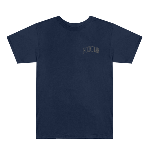 Rockstar Collegiate Navy Blue T-Shirt