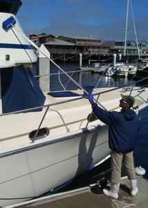 Sof-Clean - 360 degree Soft Wash Brush for Yachts and Boats