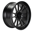 XT-206R Flat Black with machined Spokes Wheel 22x10 +0mm 6×139.7