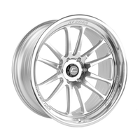 XT-206R Silver w/ Machined Face + Lip Wheel 22x10 +0mm 6×139.7