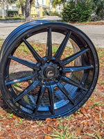 R1 Aphotic Blue Wheel 18x9.5 +35mm 5x100