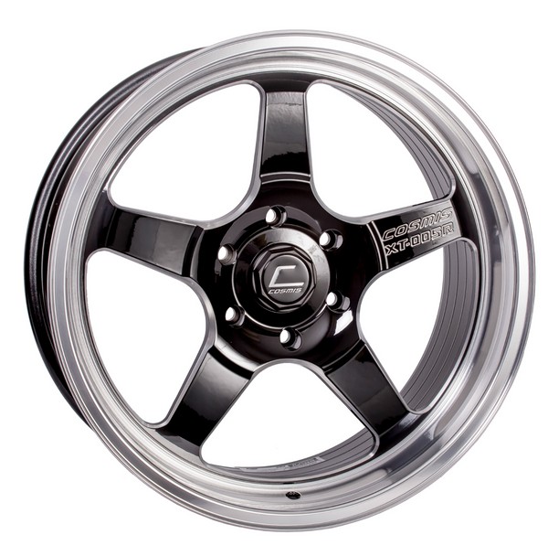 XT-005R Black w/ Machined Lip Wheel 20x9.5 +15mm 6x139