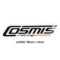 Cosmis Racing Sticker - Large
