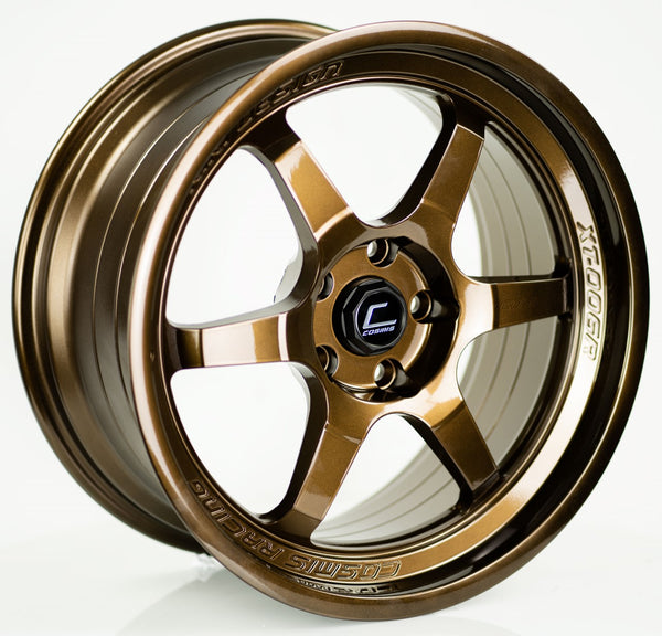 XT-006R Bronze Chrome Wheel 18x9 +30mm 5x114.3