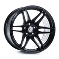 MRII Black Wheel 17x9 +10mm 5x114.3