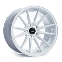 R1 White Wheel 18x8.5 +35mm 5x100