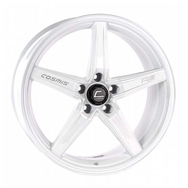 R5 White Wheel 18x8.5 +40mm 5x108
