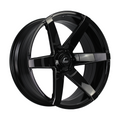 S1 Black Wheel w/ Milled Spokes 22x9.5 +0mm 6x139.7