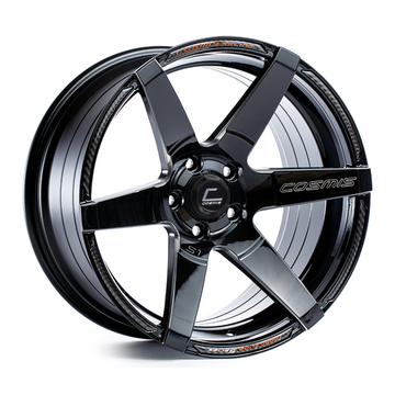 S1 Black Wheel w/ Milled Spokes 18x9.5 +15mm 5x114.3