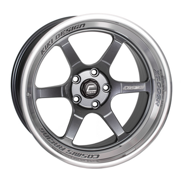 XT-006R Gun Metal w/ Machined Lip Wheel 18x9.5 +10mm 5x114.3