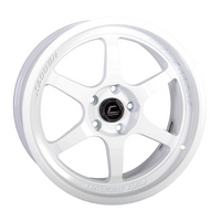 XT-006R White Wheel 18x9 +30mm 5x100