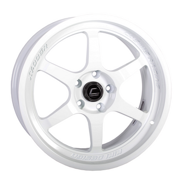 XT-006R White Wheel 18x9 +30mm 5x114.3