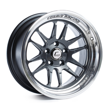 XT-206R Gun Metal w/ Machined Lip Wheel 18x11 +8mm 5x114.3