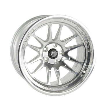 XT-206R Silver w/ Machined Face + Lip Wheel 18x11 +8mm 5x114.3