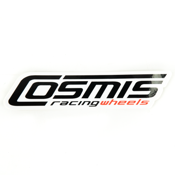 COSMIS RACING STICKER - UNIVERSAL