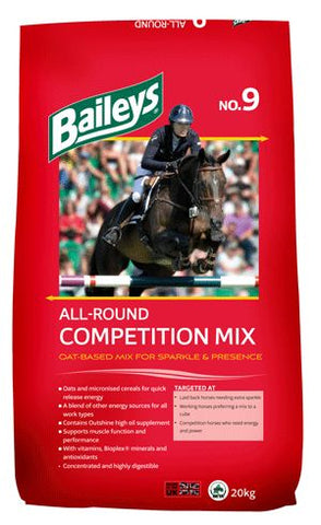 Baileys- No. 9 All-Round Competition Mix - Feeds2U
