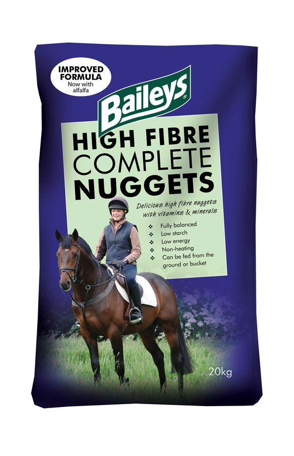 Baileys- High Fibre Complete Nuggets - Feeds2U
