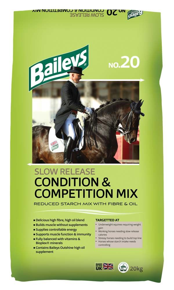 Baileys- No.20 Slow Release Condition & Competition Mix - Feeds2U