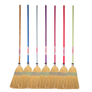 Gorilla Coloured Corn Brooms - Feeds2U