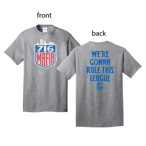 716 Mafia / We're Gonna Rule This League - short sleeve
