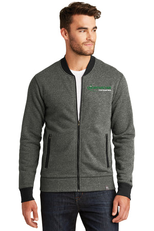 Northstar Mens New Era® French Terry Baseball Full-Zip -NEA503