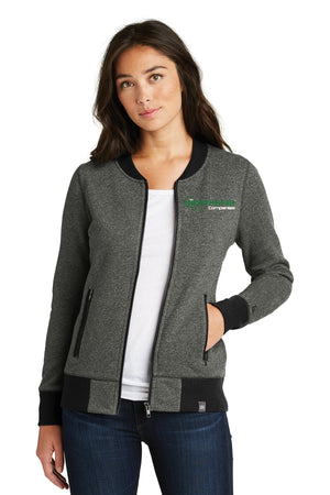Northstar Ladies New Era® French Terry Baseball Full-Zip -LNEA503