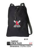 Canvas Cinch Pack - B119