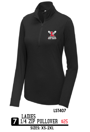 Ladies 1/4 Zip Pullover - LST407