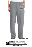 Fleece Sweatpant w/ pockets - PC78P,  - Artdogtees