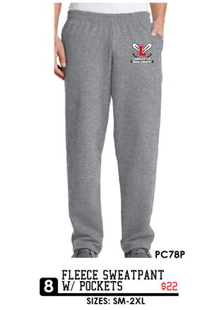 Fleece Sweatpant w/ pockets - PC78P