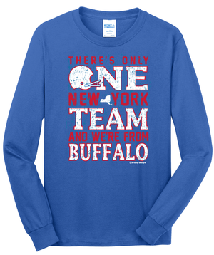 One Team - Unisex Long Sleeve,  - Artdogtees