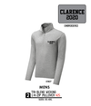 Mens Tri-Blend Wicking 1/4-Zip Pullover -ST407