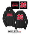 Fleece Pullover Hooded Sweatshirt - PC850H