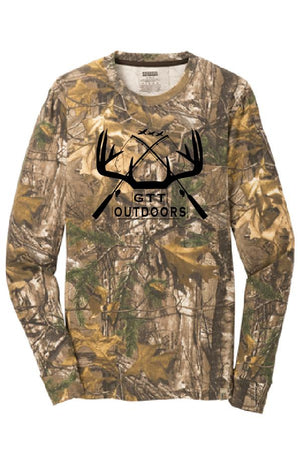 GTT Outdoors Unisex Long Sleeve Realtree Xtra, GTT - Artdogtees