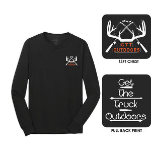 GTT Outdoors Unisex Long Sleeve Tee, GTT - Artdogtees