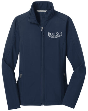 BuffSci - Ladie's Soft Shell Jacket - L317,  - Artdogtees