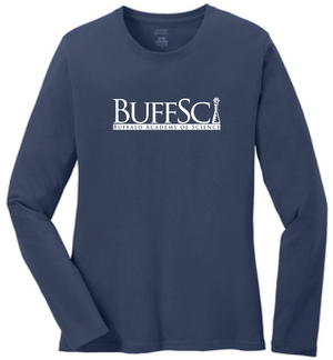 BuffSci - Ladies Long Sleeve Tee - LPC54LS,  - Artdogtees
