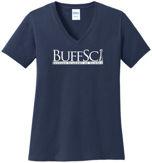 BuffSci - Ladies V-Neck - LPC54V,  - Artdogtees