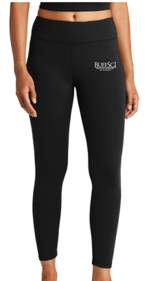 BuffSci - Ladies 7/8 Legging - LPST890 - BLACK ONLY