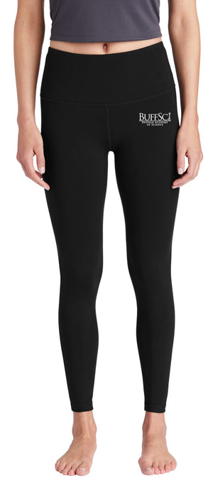 BuffSci - Ladies 7/8 High Rise Legging - LPST891,  - Artdogtees