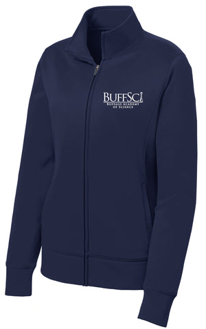 BuffSci - Ladie's Fleece Full-Zip Jacket - LST241,  - Artdogtees