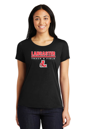 Legends Ladies Short Sleeve Competitor Tee (Black) [LST450],  - Artdogtees