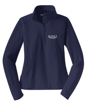 BuffSci - Ladies 1/2-Zip Pullover - LST850,  - Artdogtees