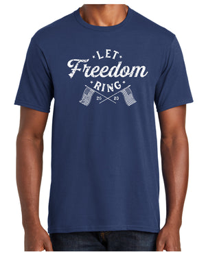 Let Freedom Ring - Short Sleeve T-shirt