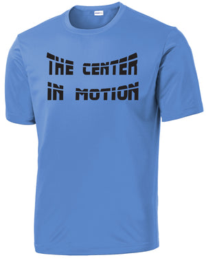 The Center In Motion Performance Tee