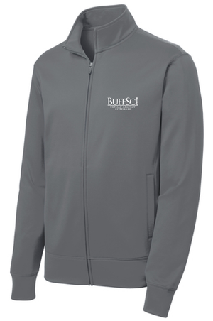 BuffSci - Men's Fleece Full-Zip Jacket - ST241,  - Artdogtees