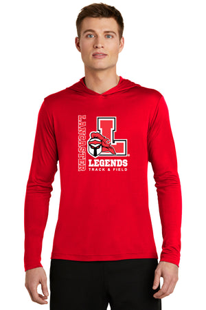 Legends Lightweight Competitor Hooded Pullover (Red) [ST358],  - Artdogtees