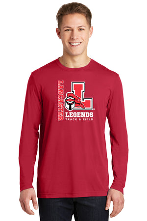 Legends Long Sleeve Competitor Tee (Red) [ST450LS],  - Artdogtees